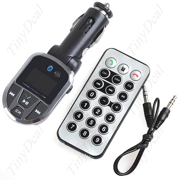 acheter 3 en 1 transmetteur bluetooth adapter wireless fm lecteur mp3 pour la voiture. Black Bedroom Furniture Sets. Home Design Ideas