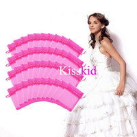Wholesale Hot Pink Organza Favor Bags - 200 Pcs Hot Pink Organza Gift Bag Bags Wedding Favor Party 9X12cm New