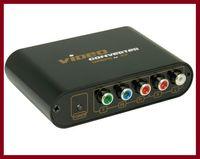 Wholesale Video Converter Ypbpr - Component Video (YPbPr) to Composite Video and S-video converter Full HD 1080p, AV Converter
