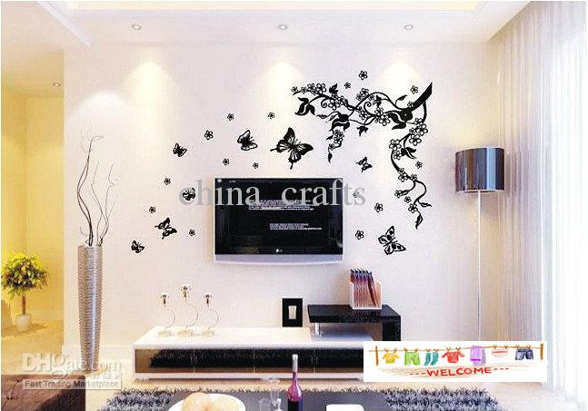 Removable Butterfly Wall Stickers Living Room Decals Hot Sale Home Decor
