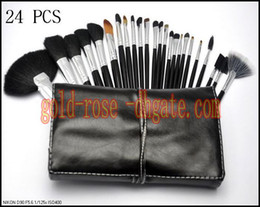 Wholesale New Products Sell - Best selling products new Professional Brush 24 Pieces + leather Pouch +GIFT