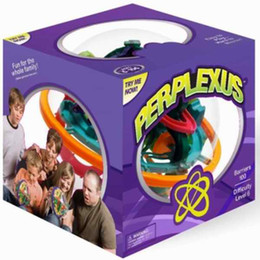 Wholesale World Ball Toy - wholesale Perplexus Maze Game 3D puzzle 100 barriers,3D maze world stereo mental maze ball,baby toy
