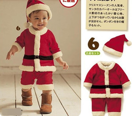$enCountryForm.capitalKeyWord Canada - 3pcs lot Cute baby Christmas clothes,Child Christmas clothing + Christmas Hat set,Christmas gifts