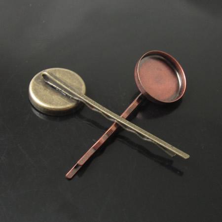 Beadsnice Brass Hairpins絶妙なサイズ54x18x7mmニッケルフリーの鉛安全な高品質のハンドメイドのギフトID14289
