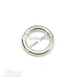 $enCountryForm.capitalKeyWord Australia - Free Shipping 100pcs lot 925 Sterling Silver Ring Accessory Jewelry Findings Components Fit DIY Craft Jewelry W5106