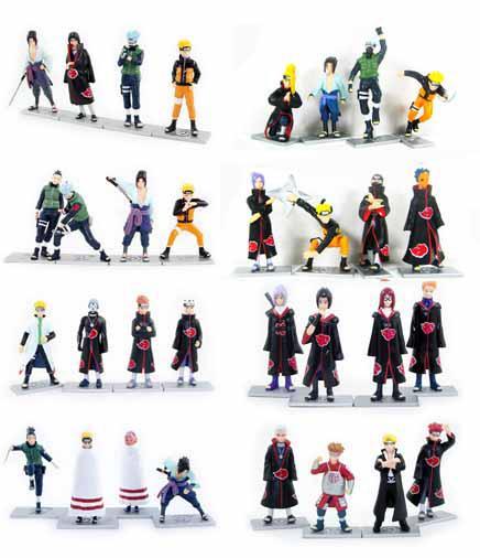 Online Cheap 48 Styles Naruto Anime Figures Dolls Toys ...