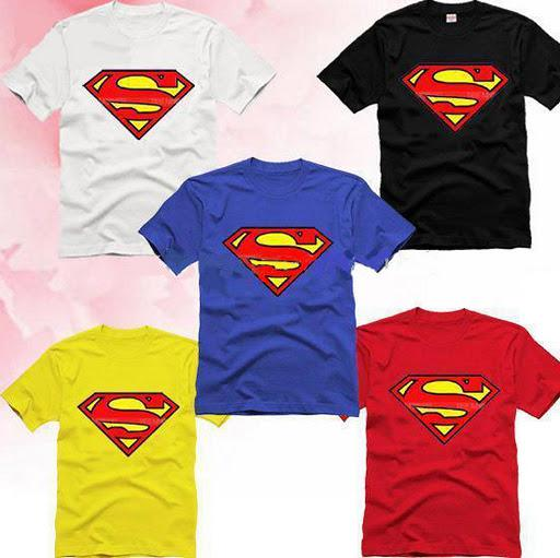 New Arrival Men Superman T Shirt 5 Colour Can Free Ship Cool Tee ...