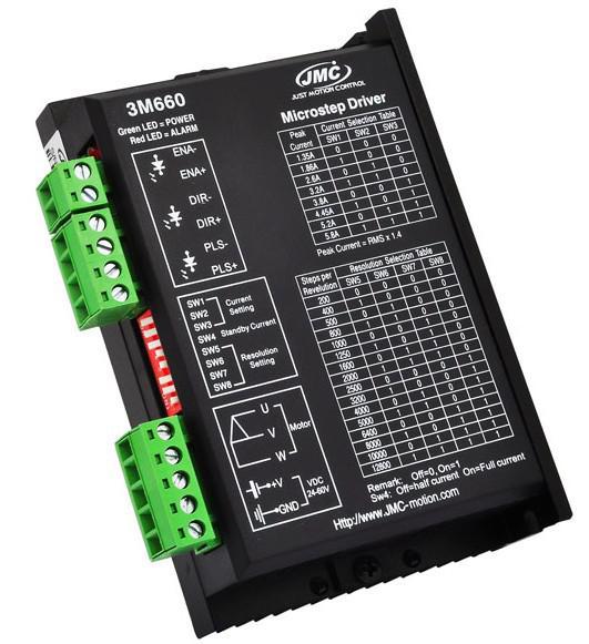 Digital stepper motor driver, 3 phase, ac 100v-220v, 2-7. 5a | ato. Com.