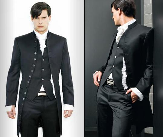 Custom Made New Mens Stylish Slim Fit Wedding Dress Suit Vest ...