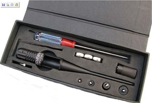 Accurate 0.22-0.50 caliber red laser boresighter bore sighter for hunting