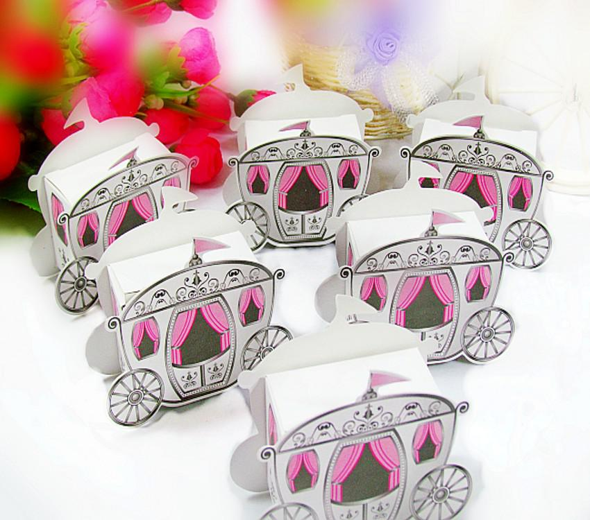 Wedding Candy Boxes Carriage Candy Box Wedding Gifts Wedding