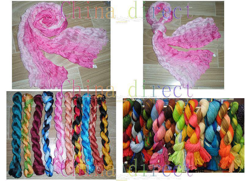 Ladies Silk Neck Scarves Silk Scarf Wraps Shawls Ponchos Sjal Christams Gift / # 1664