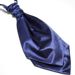 Wholesale Purple Ascot - navy cravat women ascot men ties neck tie neckties men's tie shirt ties satin ties fashion ties
