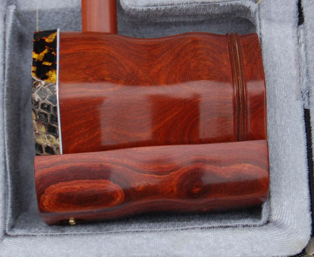 Hurtownia China Musical Instrument, Erhu, Annatto Wysokiej jakości towary Erhu, Red Wood Poemr erhu, Direc
