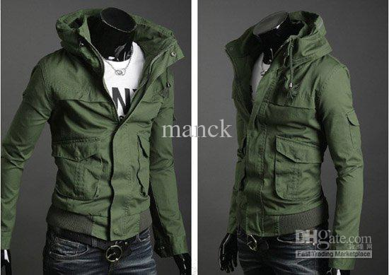 Fashion Slim Men'S Jacket Designer Men Jacket Mens Windbreaker ...