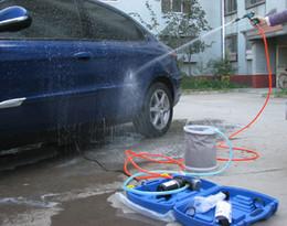 Wholesale 12v Portable Washing Machine - Free shipping 1 pcs DC 12V  24V Car washer 310A Practical utility vehicle portable washing machine