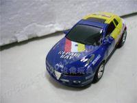 brinquedo carro mini bateria venda por atacado-Super brinquedo para o natal mini coque pode controle remoto de rádio brinquedo super rc carro de corrida 1:63 24 pcs