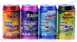 China Cool Mini Coke Can Radio Remote control Super RC racing car 1:63 4pcs suppliers