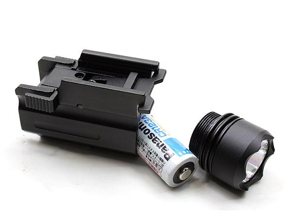 NcStar Tacitcal Pistol LED Flashlight w/Quick Release Mount