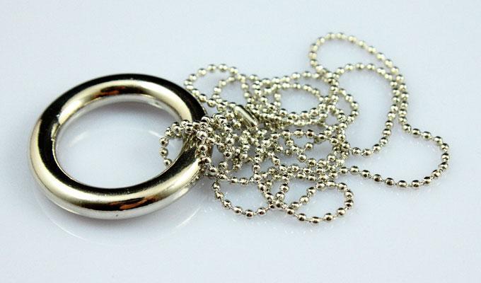 Magic Necklace/Chain & Ring Release/Magic toys/magic tricks/magic props /Big Circle