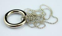 Wholesale Chain Ring Tricks - 10pcs lot Magic Necklace Chain & Ring Release Magic toys magic tricks magic props  Big Circle
