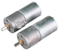 ingrosso motori ad ingranaggi ad alta coppia-2pcs 60 RPM Potente motore a corrente continua ad alta coppia con motore a corrente continua da 24mm 12V