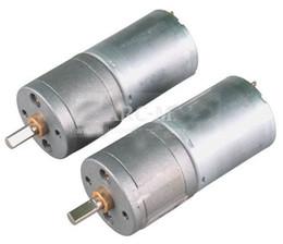 Wholesale Gear Dc - 2pcs 60RPM Powerful High Torque Mini DC Motor 24mm 12V Powerful Geared Electrical