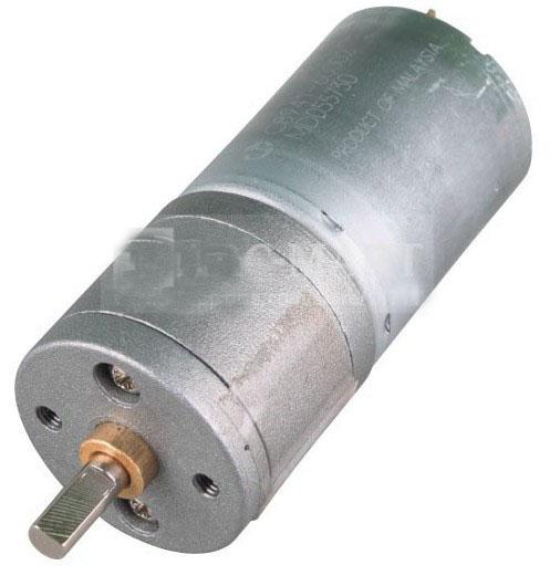 2шт 60 об. / мин Мощный высокий крутящий момент мини DC мотор 24mm 12V мощный мотор электрический