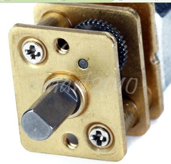 2шт 11500 об / мин короткий вал крутящий момент коробка передач двигатель постоянного тока 3-6В