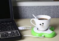 Wholesale Hot Water Heater Tea - Computer MINI USB Cup Water Heater Warmer calorifier Keep Coffee Tea Warm Christmas gift Hot Sale