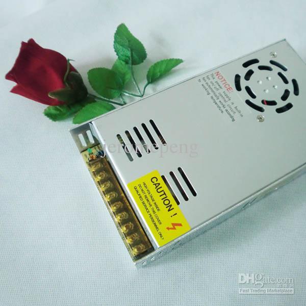최고의 비 방수 알루미늄 쉘 LED 스트립 조명 LED 모듈에 대 한 진짜 12V 25A 300W LED 스위칭 전원 공급 장치