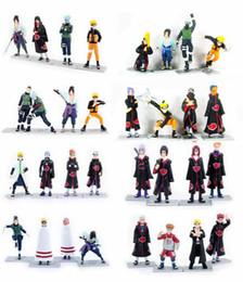 Wholesale Figures 48 - 48 styles Naruto Anime Figures Dolls Toys Cartoon Doll Model Birthday Christmas Gift