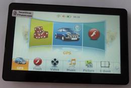 Wholesale Gps Navigation Sirf V - HD 800*480 resolution 7 inch GPS Navigation 128M RAM 4G Flash SIRF V 600MHZ Wince 6