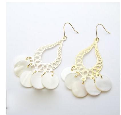 Alta qualità 20pair / lot delle donne della perla della Boemia di modo di goccia dell'acqua dell'annata
