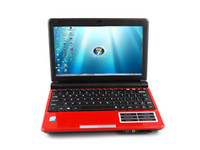 Wholesale Atom Computers - 10.2 inch Laptop PC S30 Intel Atom D425 1.8GHz Win7 OS Laptops WiFi Camera NoteBook Computer 5 Color