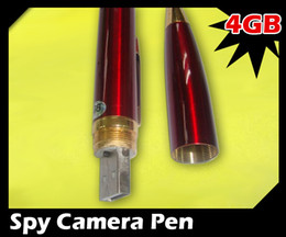 Wholesale Drive 4g - Christmas gift 4GB Hidden Spy Camcorder Drive Pen MP9 640X480 DVR Cam Vedio Camera