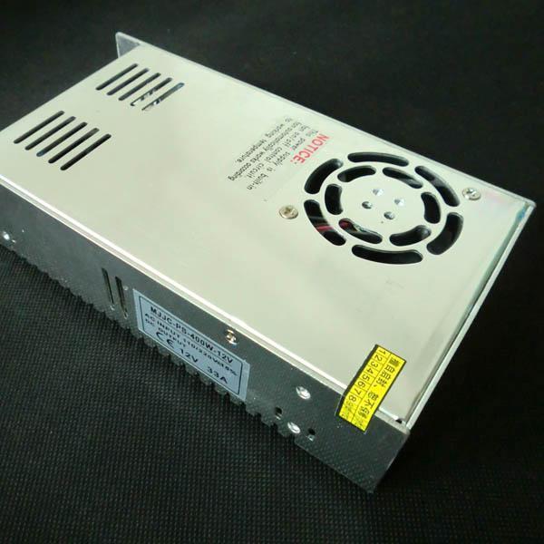 33.3a 12V 400W非一流の金属のスイッチングLEDの電源3528 5050の柔軟なLEDストリップライト