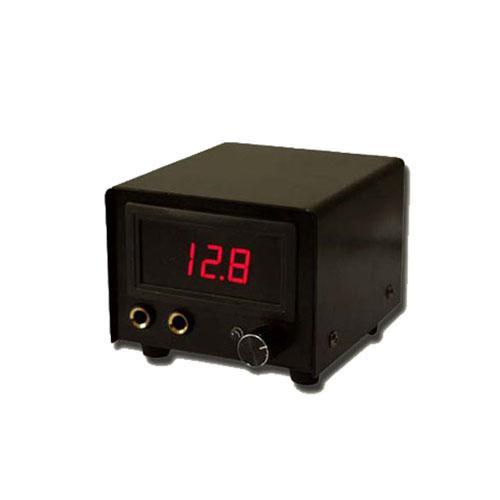 문신 전원 공급 장치 탑 LCD 문신 전원 플러그 페달 스위치 클립 코드