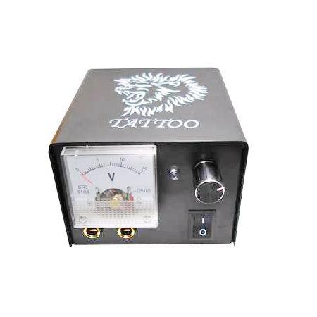 LCD 디지털 문신 전원 공급 클립 코드 + 풋 페달