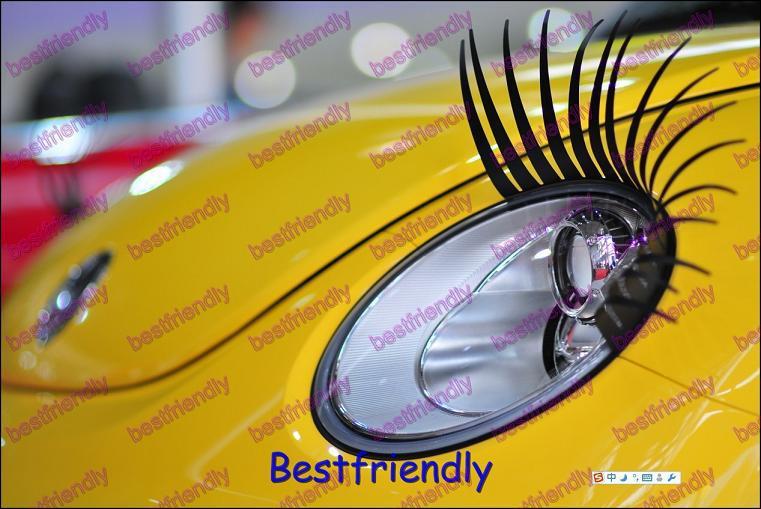 2000 stks = wimpers auto oog wimpers wimper 3d auto sticker eye-washes licht wenkbrauw