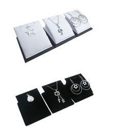 Wholesale Jewellery Stand Earrings - LOT PENDANT NECKLACE EARRINGS JEWELLERY DISPLAY STANDS 12PCS