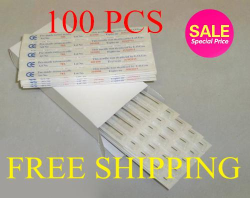 best selling 100pcs Mixed Assorted Disposable Tattoo Needles Sterile Tattoo Needles