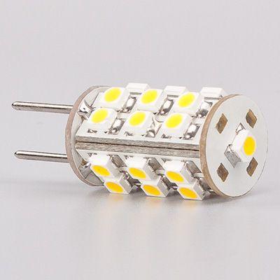 G4 Led Light 25led 3528 SMD 12VDC/12VAC/24VAC Bi-pins White CamperCar Ship Bulb Lamp