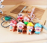 Wholesale Mcdull Pig Wholesale - Card cool mobile phone chain, pig   pig McDull phone accessories   cell phone accessories   toys