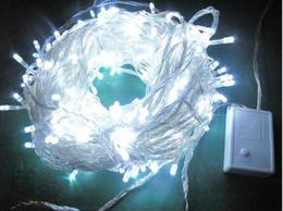 vente en gros 300LED 30M lampe de Noël lumières de Noël jardin porte lampes blanches ? partir de fabricateur