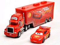 Wholesale 1 Set Cars Mack Truck Car Color Red Cars Toy