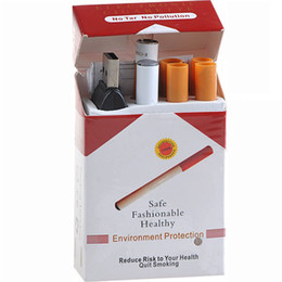 Wholesale Electronic Cigarettes Sets - Mini Health Eletronic Cigarette E-cigarette kit,Help you quit smoking!