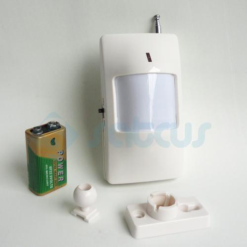 Sensore PIR wireless / Rilevatore di movimento / Allarme sensore a infrarossi Accessori di sistema di allarme GSM wireless