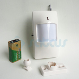 Detector Gsm Alarm NZ - Wireless PIR Sensor Motion Detector Infrared Sensor Alarm Accessories Of Wireless GSM Alarm System