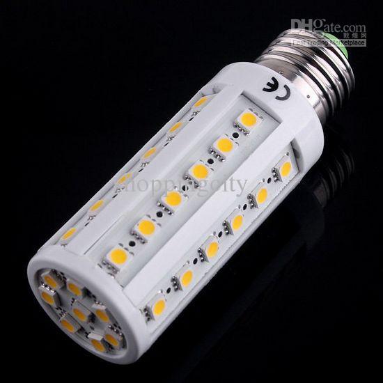 New arrival 8.5W E27 warm white /white LED corn light bulb AC110V/220V LED bulbs lamps